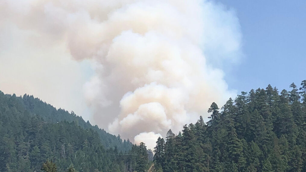As of Friday, July 9, the fire has burned 5,477 since it broke out Monday , July 5. The cause is under investigation. Containment stands at 0% (InciWeb)