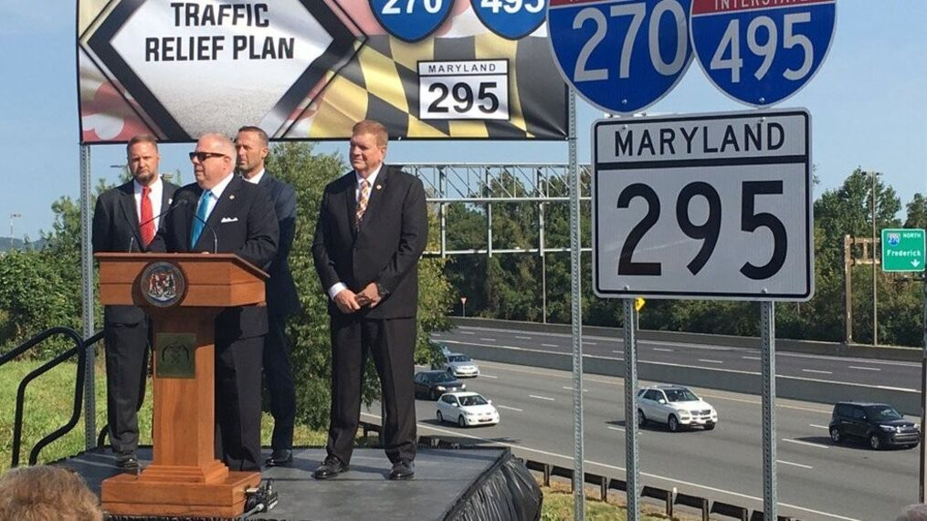 Hogan plans to widen I-270, I-495 and BW Parkway   WBFF