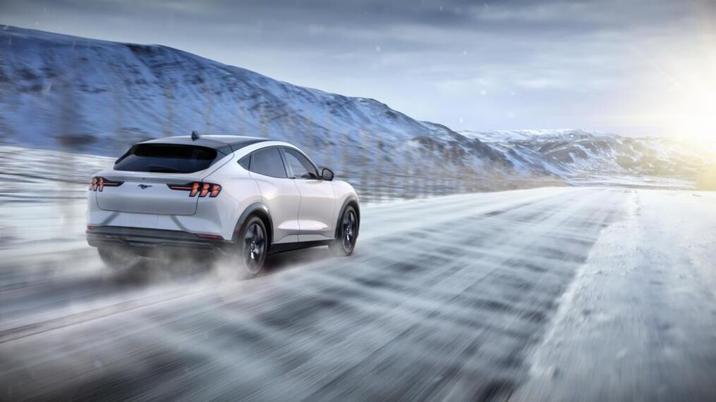 2021 Ford Mustang Mach E Ford Introduces Its First All Electric Suv Komo
