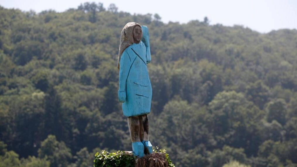 Melania Trump Depicted In Wooden Statue In Native Slovenia Wpde