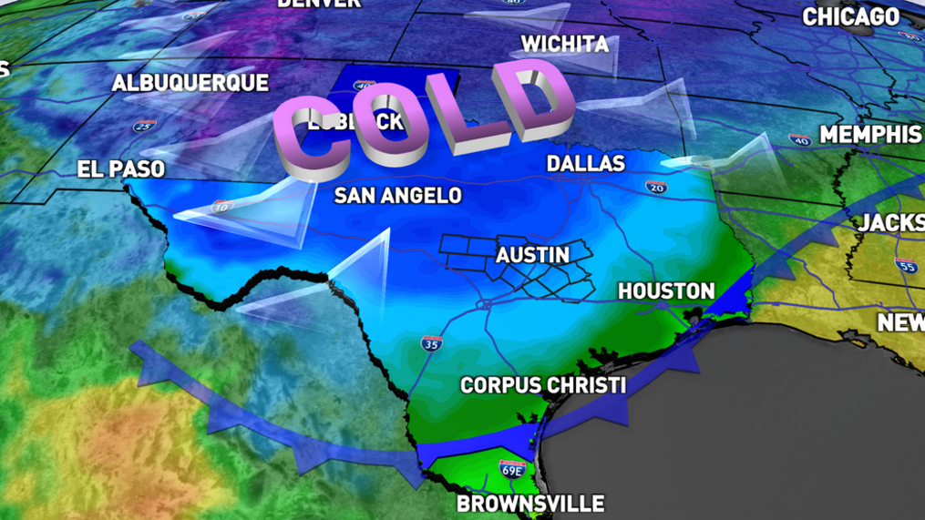 Weather whiplash: Two impressive cold fronts taking aim at Texas | KEYE