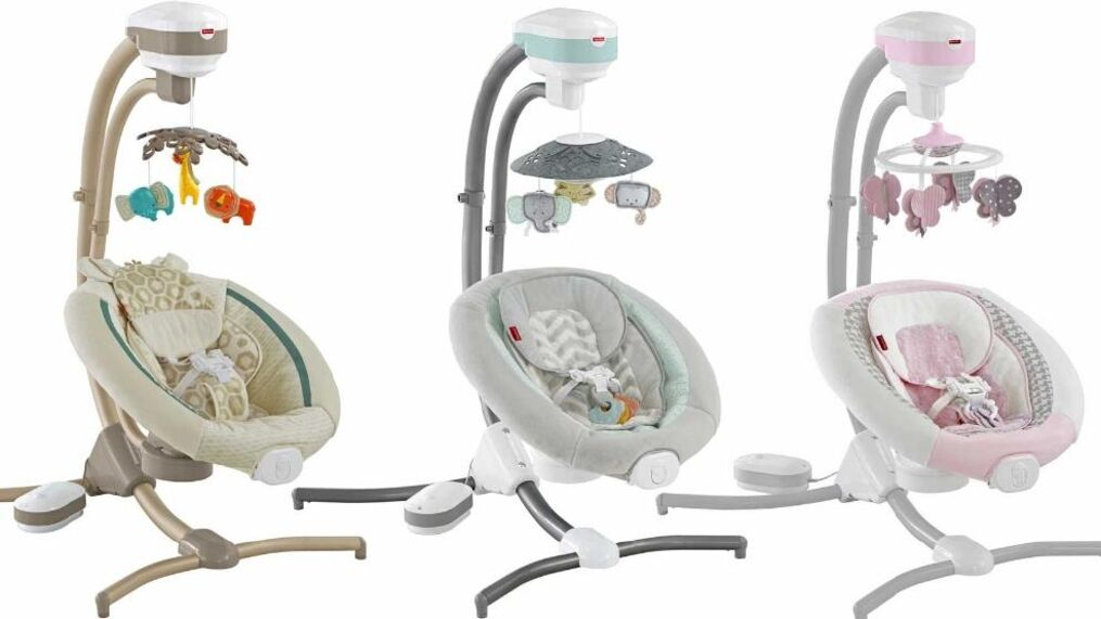 Fisher Price Recalls 34 000 Infant Cradle Swings For Fall Hazard Wciv