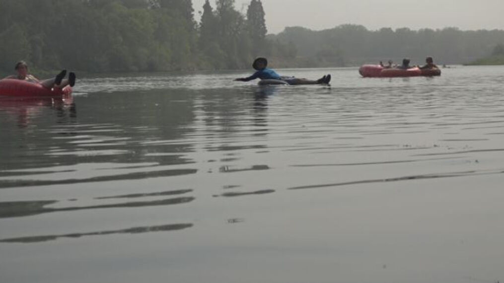 Low turnout for Labor Day float down Sacramento River as Chico State  students are gone | KRCR