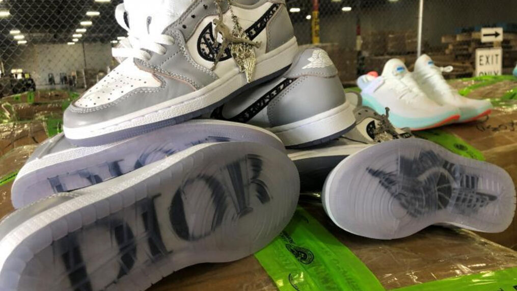 BEWARE: Counterfeit Air Jordans seized by customs agents in Dallas ...