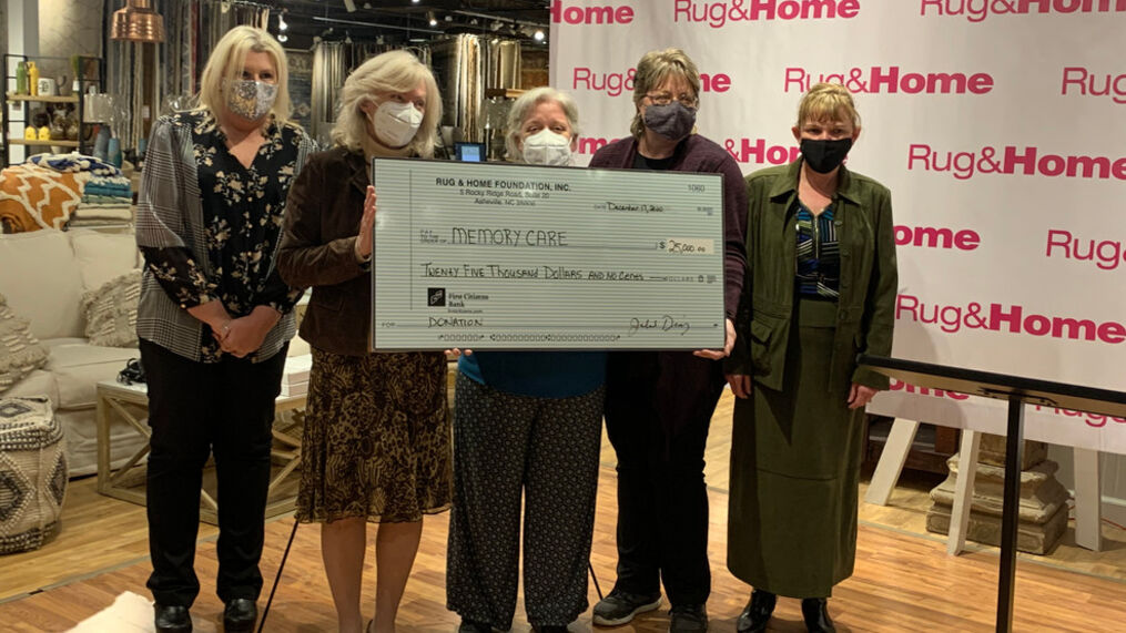 Makes Donations To Memory Care