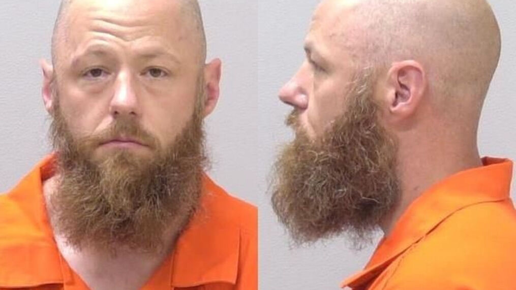Deputies said they found Richard Trask in the vehicle in the West Main Street Meijer parking lot. He was arrested and taken to the Kalamazoo County Jail on July 18, 2021. (WWMT/Courtesy Kalamazoo County Jail)