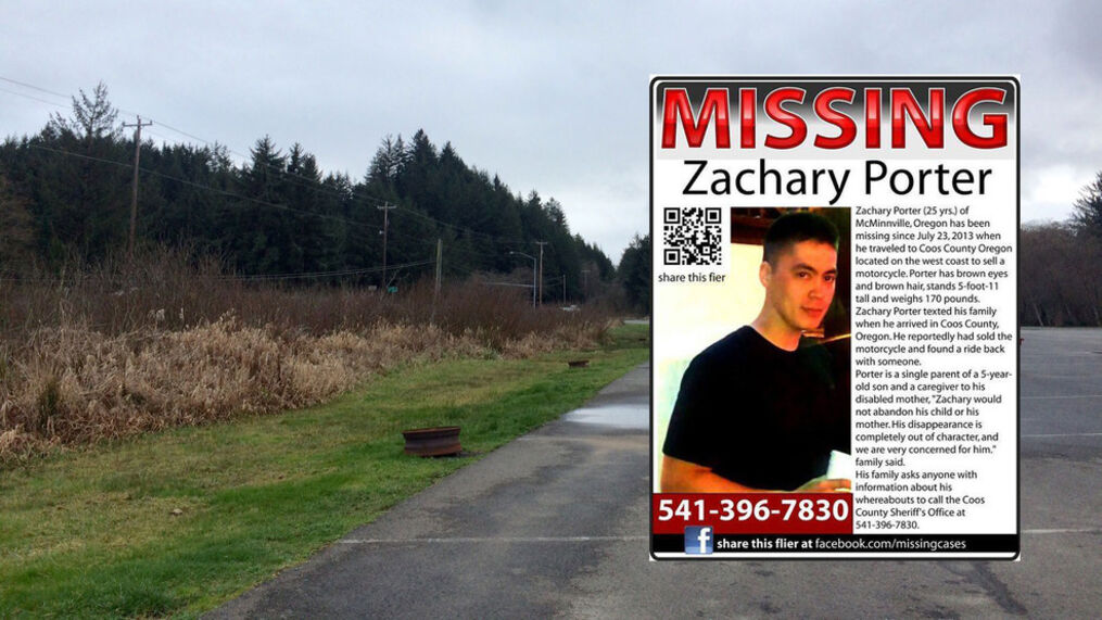 <p>Zachary Porter was a 25-year-old single dad living with his parents in McMinnville in 2013 when he traveled to the South Coast to sell a motorcycle to a man he met on Craigslist. He sold the bike. But no one has seen or heard from him since. (SBG/File){/p}