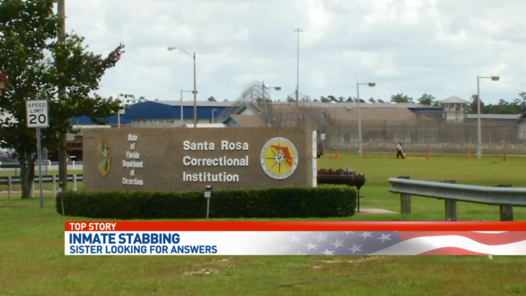 Family Concerned Over Inmate Stabbing At Santa Rosa Correctional Institution Wear