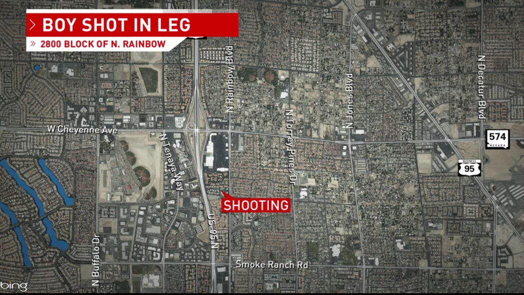 Juvenile Shot in Leg in Western Las Vegas Valley, Cops Insist to Avoid the Area