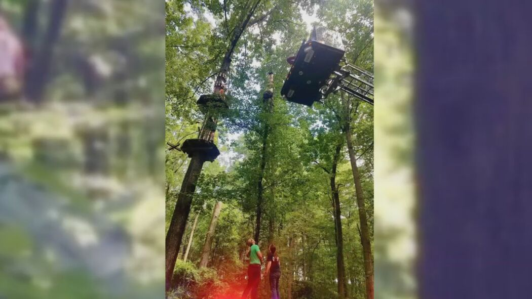 Maryland Man Who Slipped Out Of Harness At High Ropes Course Shares His Story Wjla