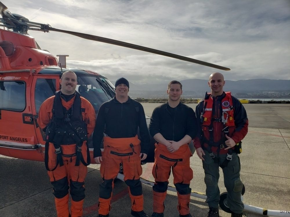 Olympic National Park hiker rescued after crawling 8 hours for cell service (Photo: U.S. Coast Guard)
