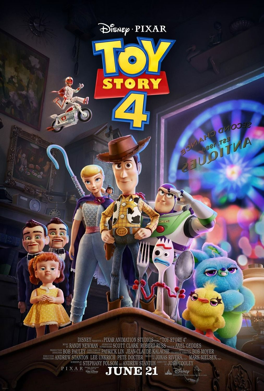 Toy Story 4 (Photo: Pixar/Disney)