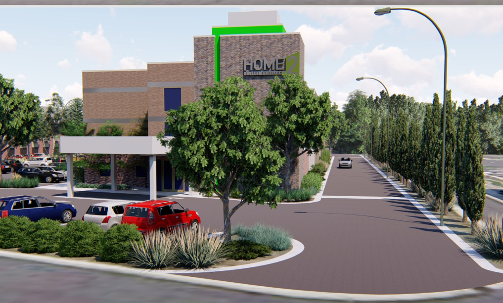 Another new hotel may be coming to Grand Blanc Township. (Rendering provided by Mark Lloyd)