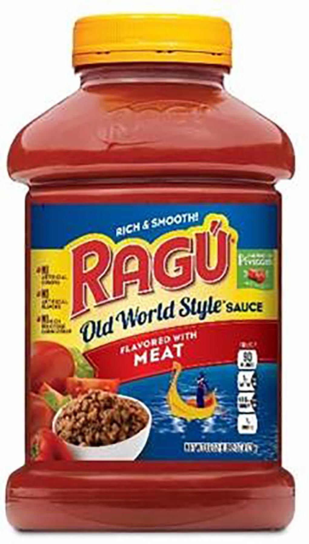 A recall of Ragu pasta sauces in the U.S. has been issued because of concern the sauce may contain fragments of plastic. (Photo: Mizkan America)