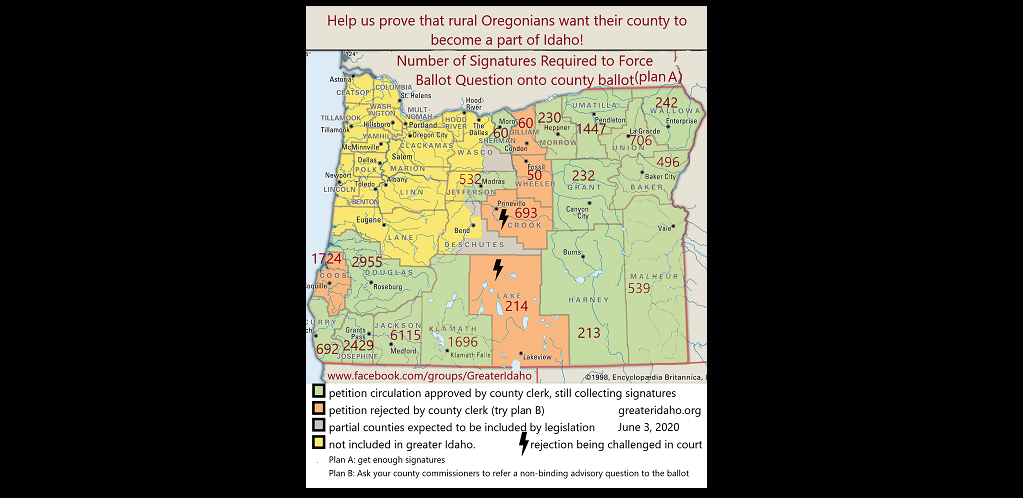 Supporters of 'Move Oregon's Border' look to election to ...