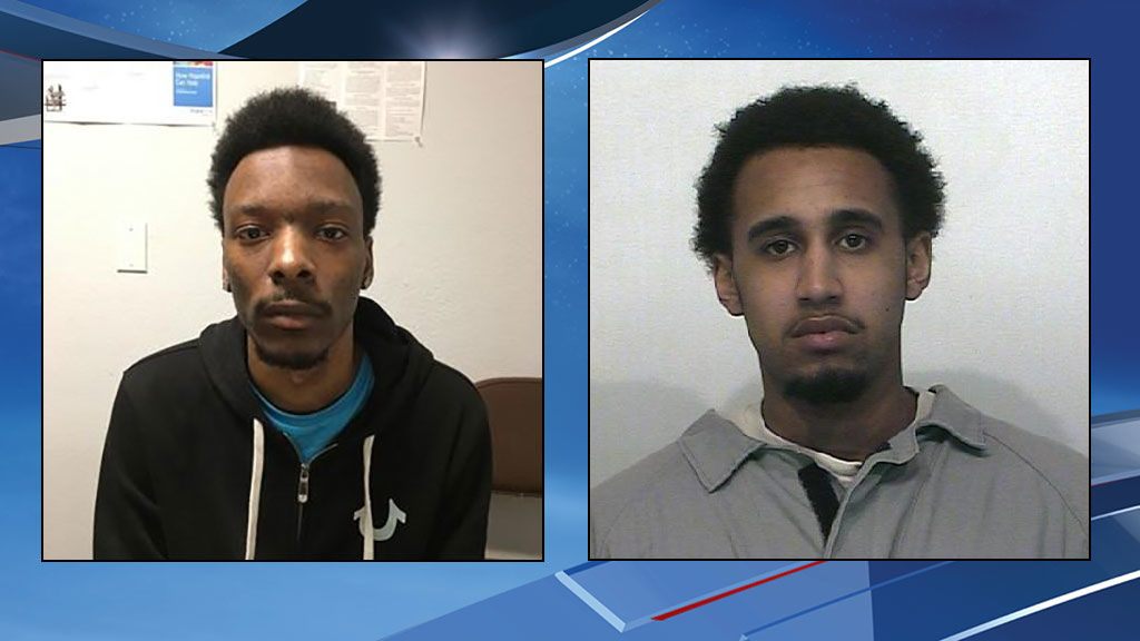 William Tolliver (left) and Marquise Tolbert are seen in police photos.