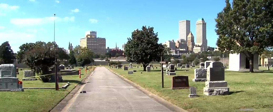 The search of the walking trail continues, with the search of the street yet to happen, perhaps later this week, along with Newblock Park.{&nbsp;} (Oct. 14, 2019/KTUL) <p></p>