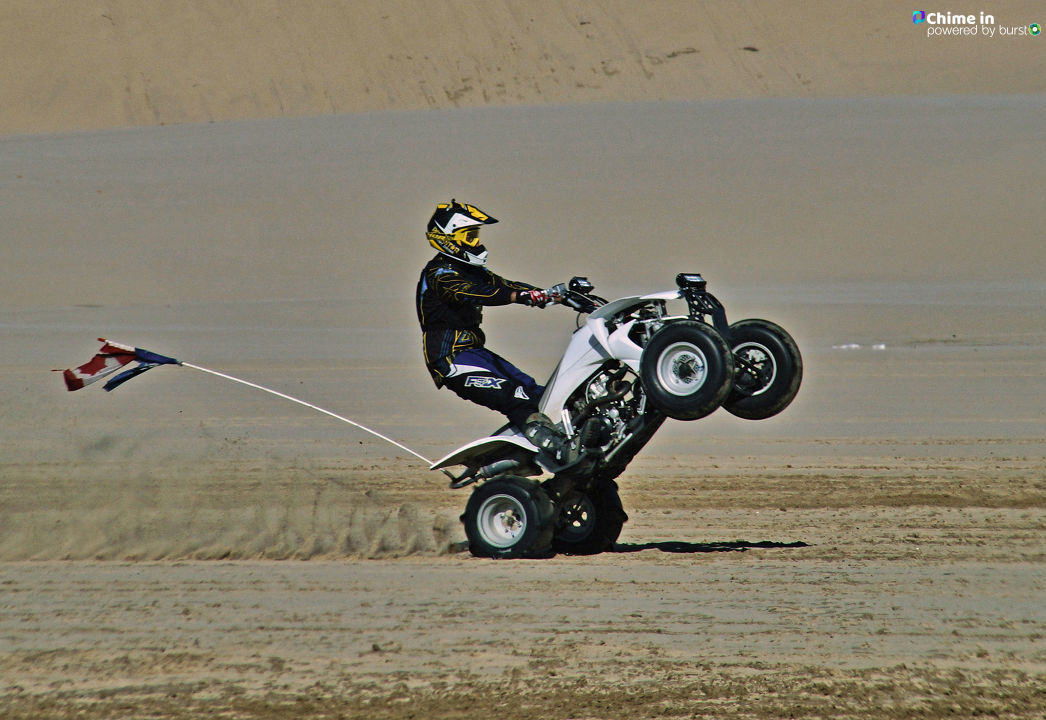 "{ }""I drove out to the Oregon Dunes National Recreation Area in Winchester Bay and watched several dozen OHVs racing around and practicing some stunts,"" Debbie Tegtmeier said via Chime In. She notes that Dune Fest is coming up at the end of July."