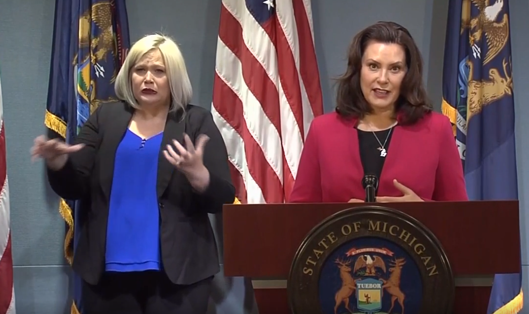 Gov. Gretchen Whitmer outlines changes to the state's response to COVID-19, including some gradual return to business operations at in door venues. (WWMT)
