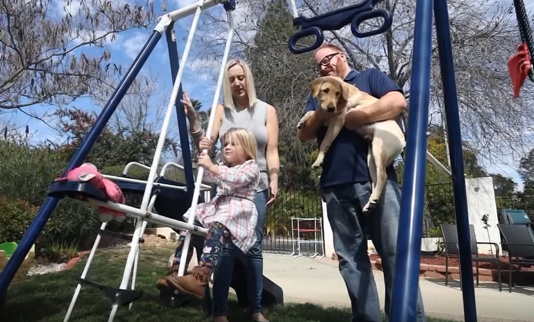 Family clones dog they credit with saving their lives (KGTV/CNN Newsource)