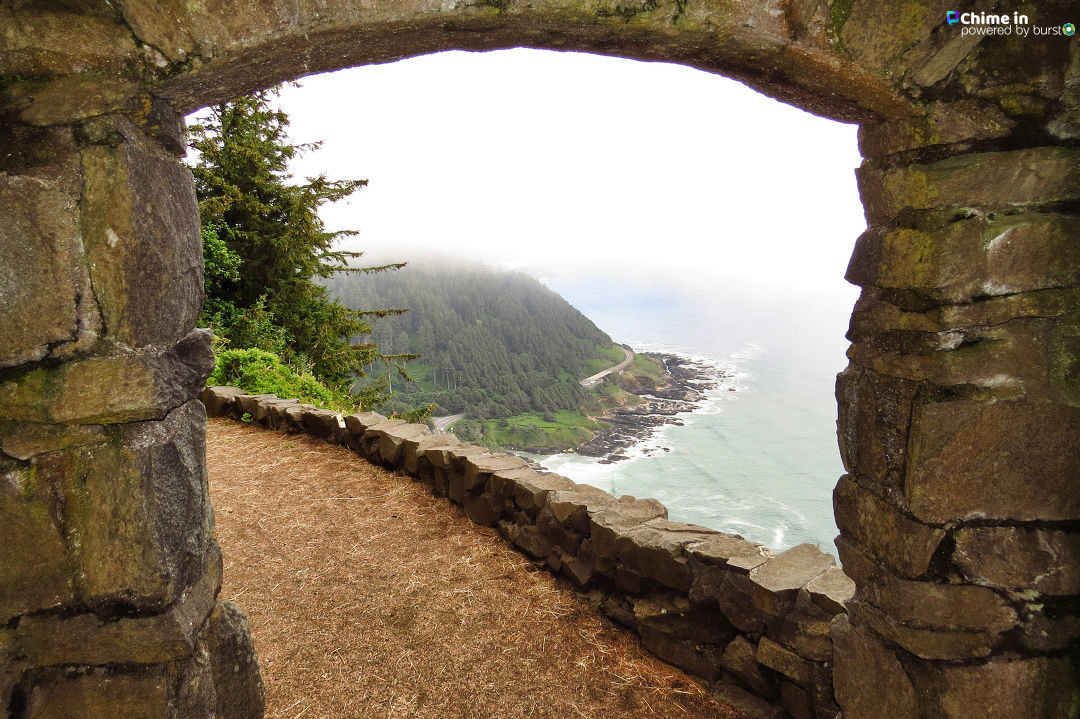 Debbie Tegtmeier shared photos of Cape Perpetua Lookout via the Chime In tab on our website. If you go explore the Oregon Coast, we would love to see your best videos and photos, too! You can share them via the CHIME IN tab on our website.