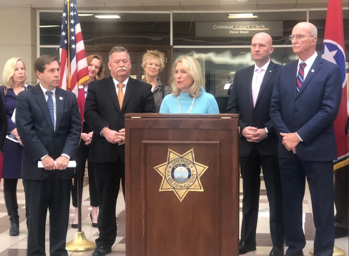 On Friday, Feb. 14th, the Hamilton County Sheriff's Office announced a $2.2 million grant for a pilot program aimed to help people suffering with mental illness and homelessness. (Image: WTVC)