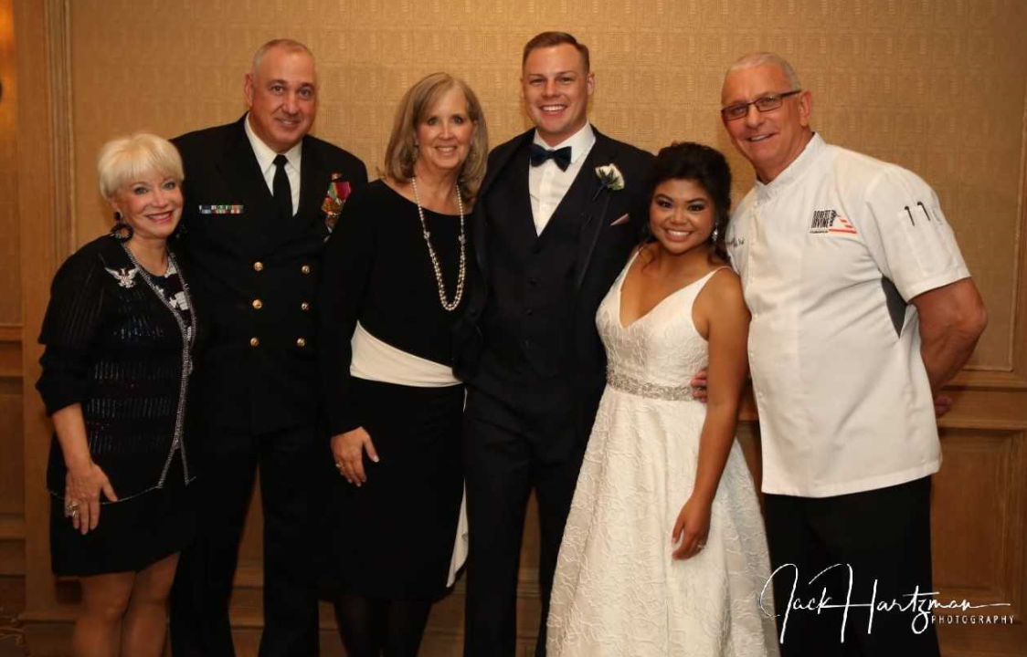 Local military couple ties the knot after winning contest for dream wedding. (WJLA)