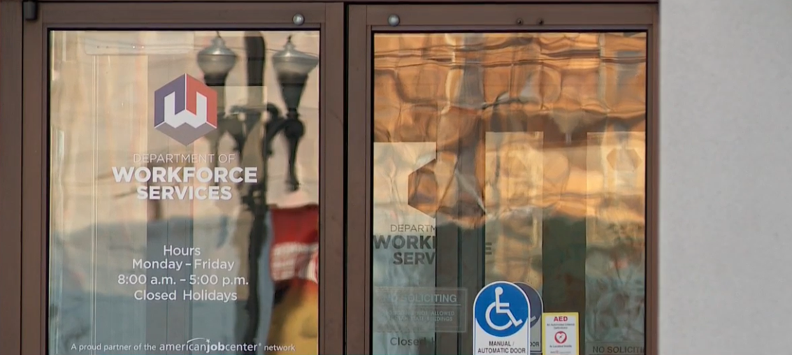 Unemployment claims have spiked in the days since the federal government shutdown, according to the Utah Department of Workforce Services. (Photo: KUTV)