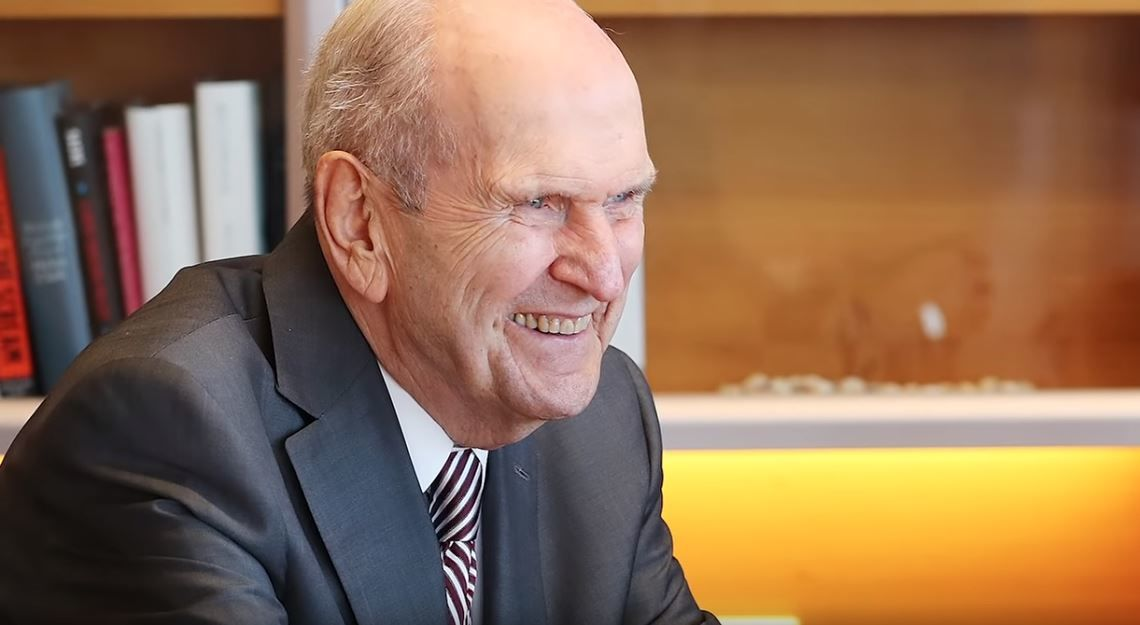 The Church of Jesus Christ of Latter-day Saints President Russell M. Nelson met with New Zealand Prime Minister Jacinda Ardern on Monday. (Photo:{ }