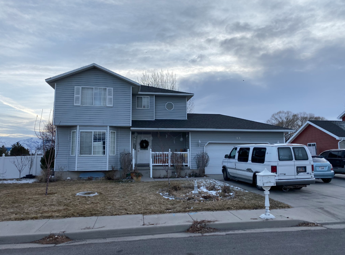 Four people — a woman and three children — were found dead in a Grantsville, Utah home on Friday night. A fifth person was injured. Police had a suspected shooter in custody. (Photo: Randy Likness / KUTV)