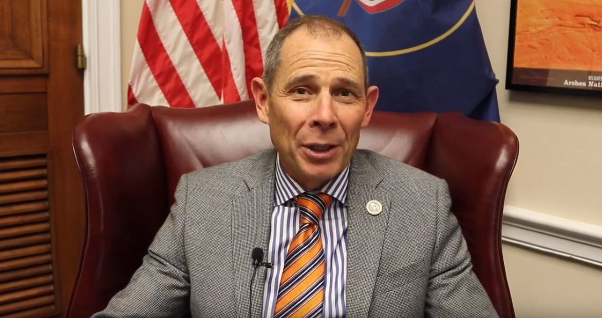 The biggest jump in approval ratings belongs to Rep. John Curtis, who saw a 14% increase in approval from 40% in February to 54% now. (Photo: KUTV)
