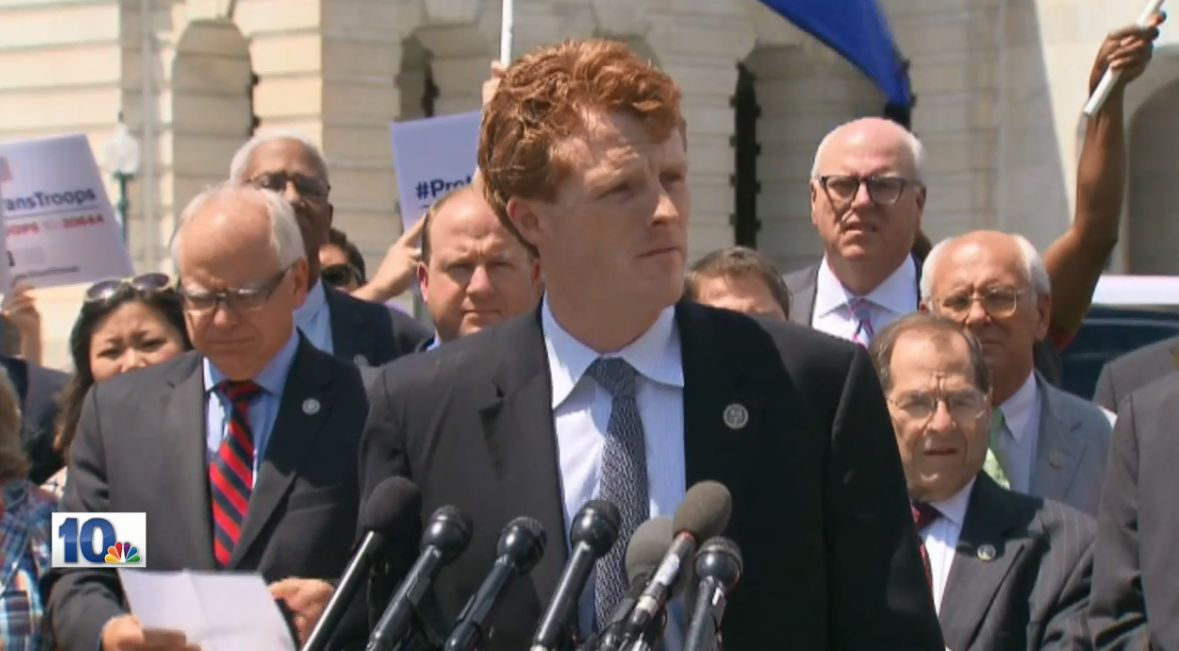 Rep. Joe Kennedy III has officially announced he will be running for U.S. Senate. (WJAR)