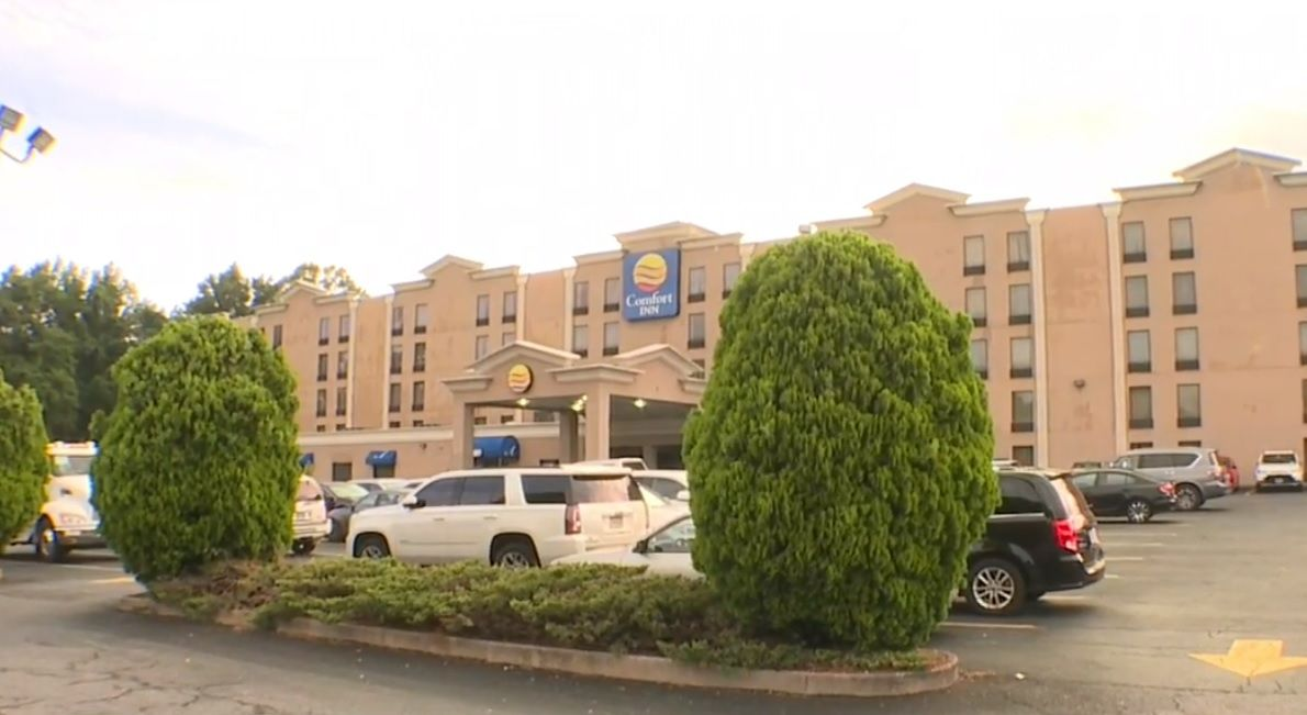 Man Shot at Baltimore County Hotel