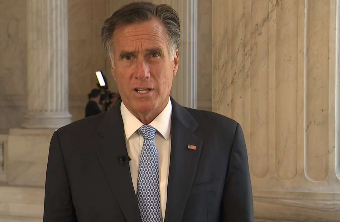 U.S. Sen. Mitt Romney says he believes climate change is happening and human activity is a significant contributor. (Photo: KUTV)