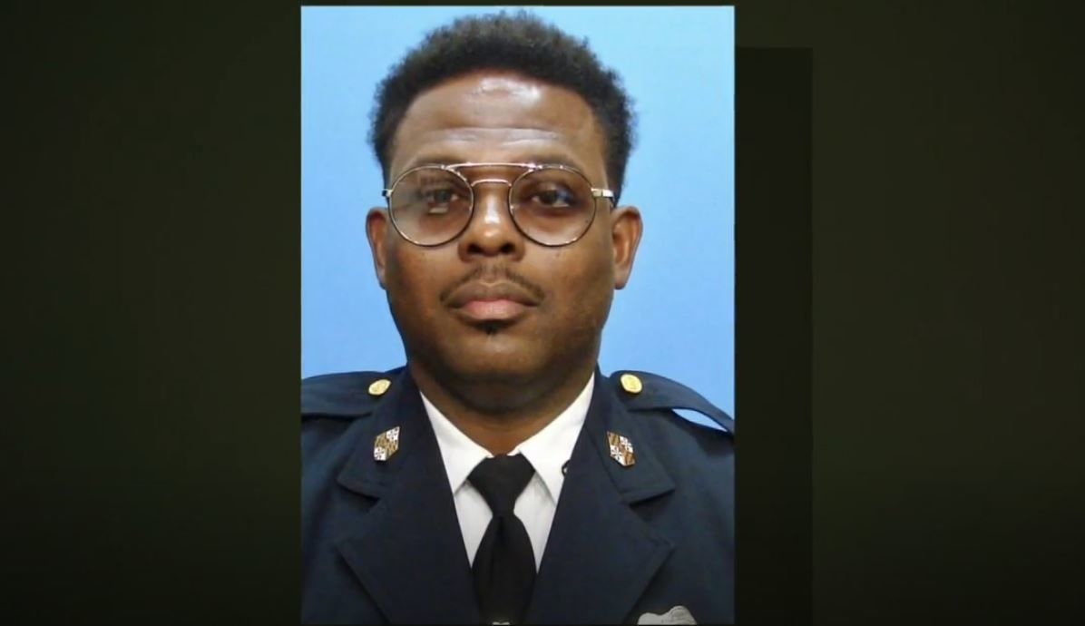 { }Baltimore Police Sergeant Carrington released from Shock Trauma
