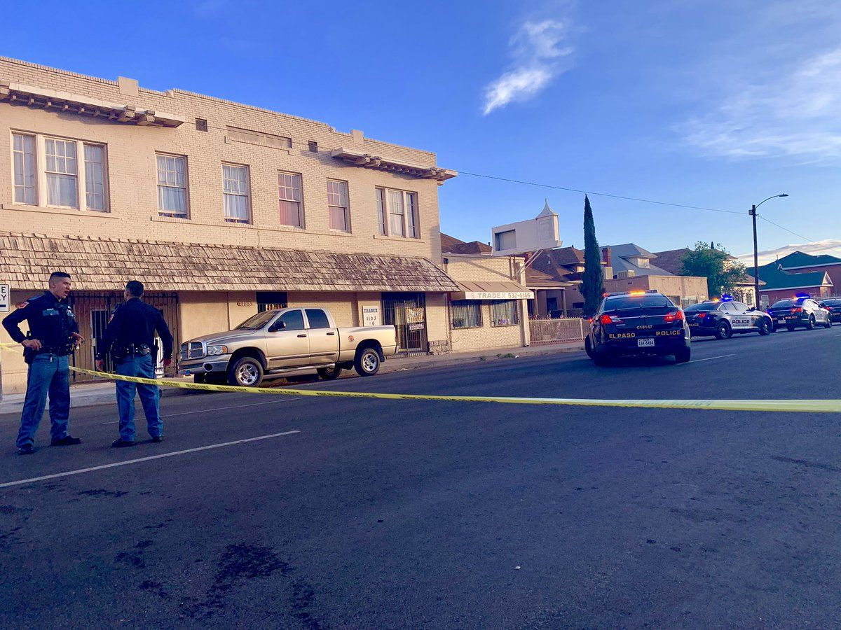Shooting reported in Central El Paso