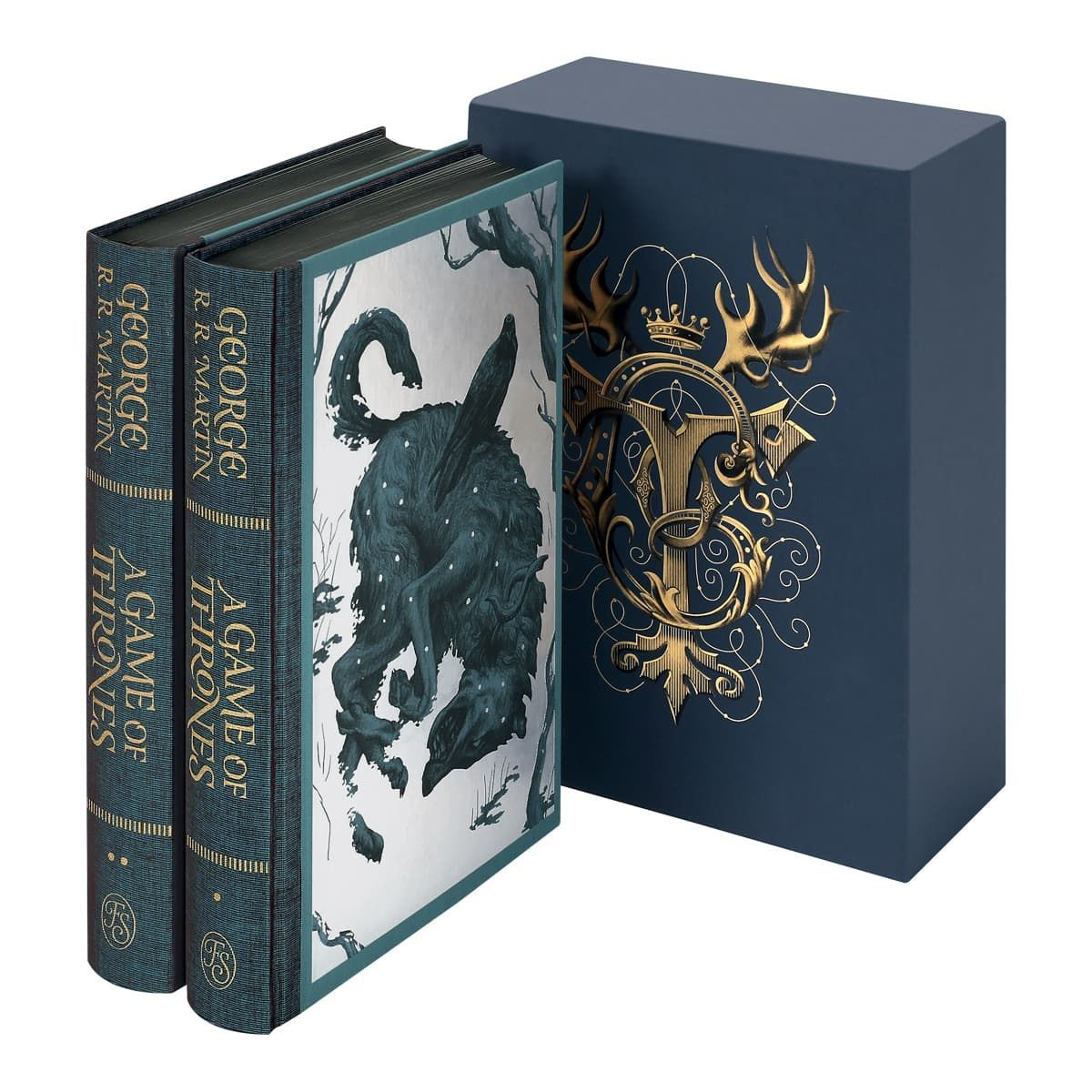 "The Folio Society presents its new Collector's Edition of George R. R. Martin's ""A Game of Thrones,"" the first in their landmark series of ""A Song of Ice and Fire"" with illustrations by award-winning artist Jonathan Burton. (Photo: The Folio Society)"
