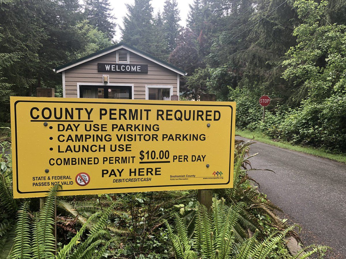 2 more Snohomish parks get $5 parking fee this summer (KOMO photo)
