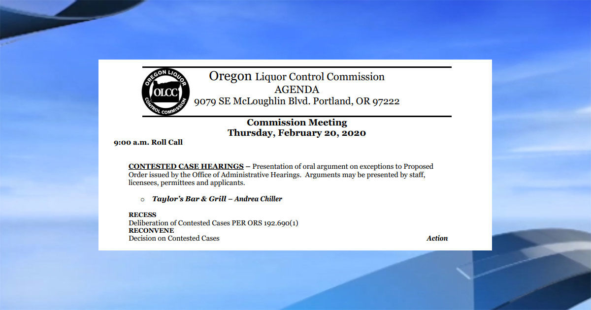 OLCC cancels liquor license for Taylor's near UO | KVAL