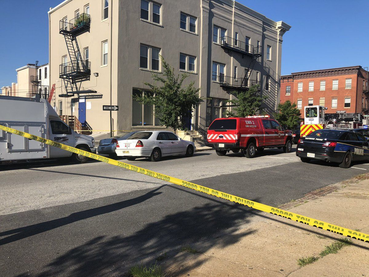 BREAKING NEWS: Baltimore police officer reportedly shot. (WBFF)