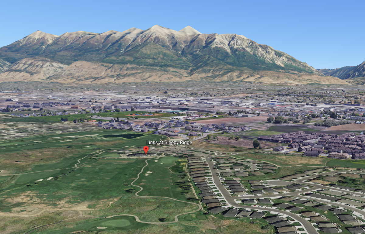 Utah father's 'missed hit' with golf ball accidentally kills 6-year-old daughter. (Photo: Google Earth)