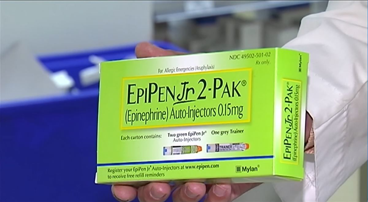 EpiPen's for kids will now be covered by insurance companies in Illinois. (WFMZ/CNN Newsource)