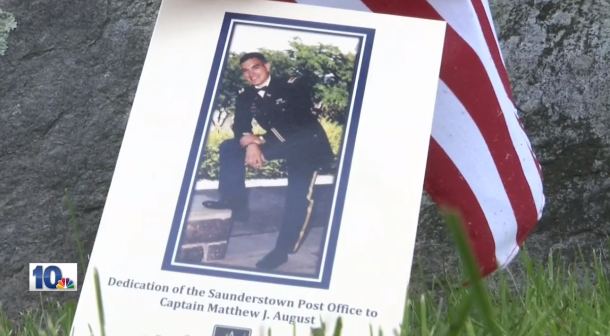 A North Kingstown post office was renamed in honor of a Rhode Island army captain who was killed in Iraq. (WJAR){ }