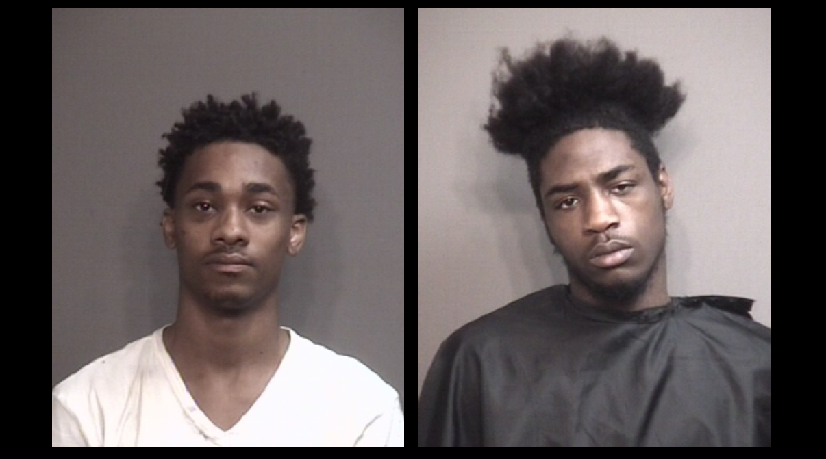 Two men are accused of breaking into a home then going to the emergency room to be treated for injuries. In the ER they claimed their injuries were sustained a block away from the reported burglary. (Boone County Jail)