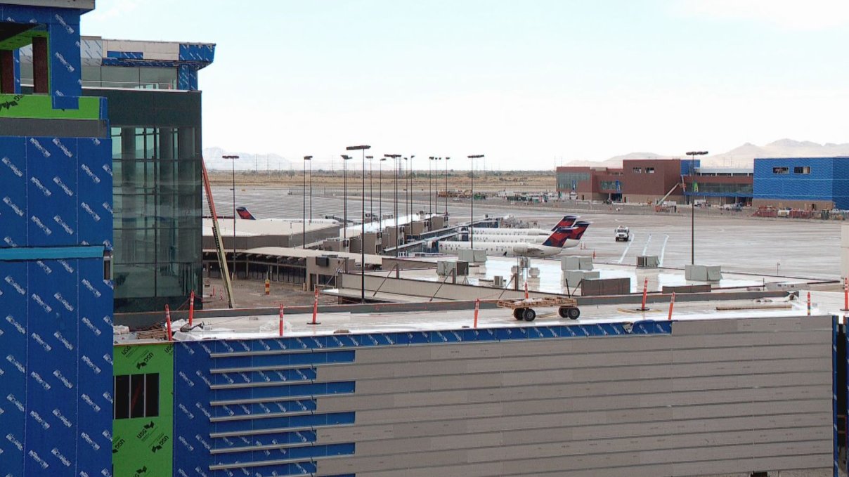 The Salt Lake City International Airport construction project needs another $500 million, according to those overseeing the airport's construction. (Photo: KUTV FILE)