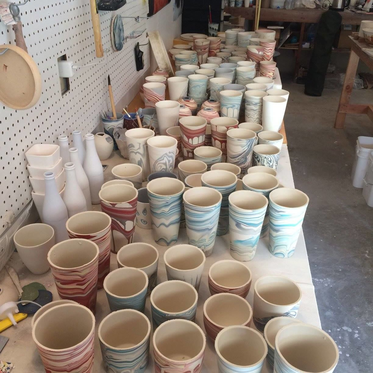In the studio at Forest Ceramic Co. on Orcas Island.{&nbsp;}(Photo: Forest Ceramic Co.)<p></p>