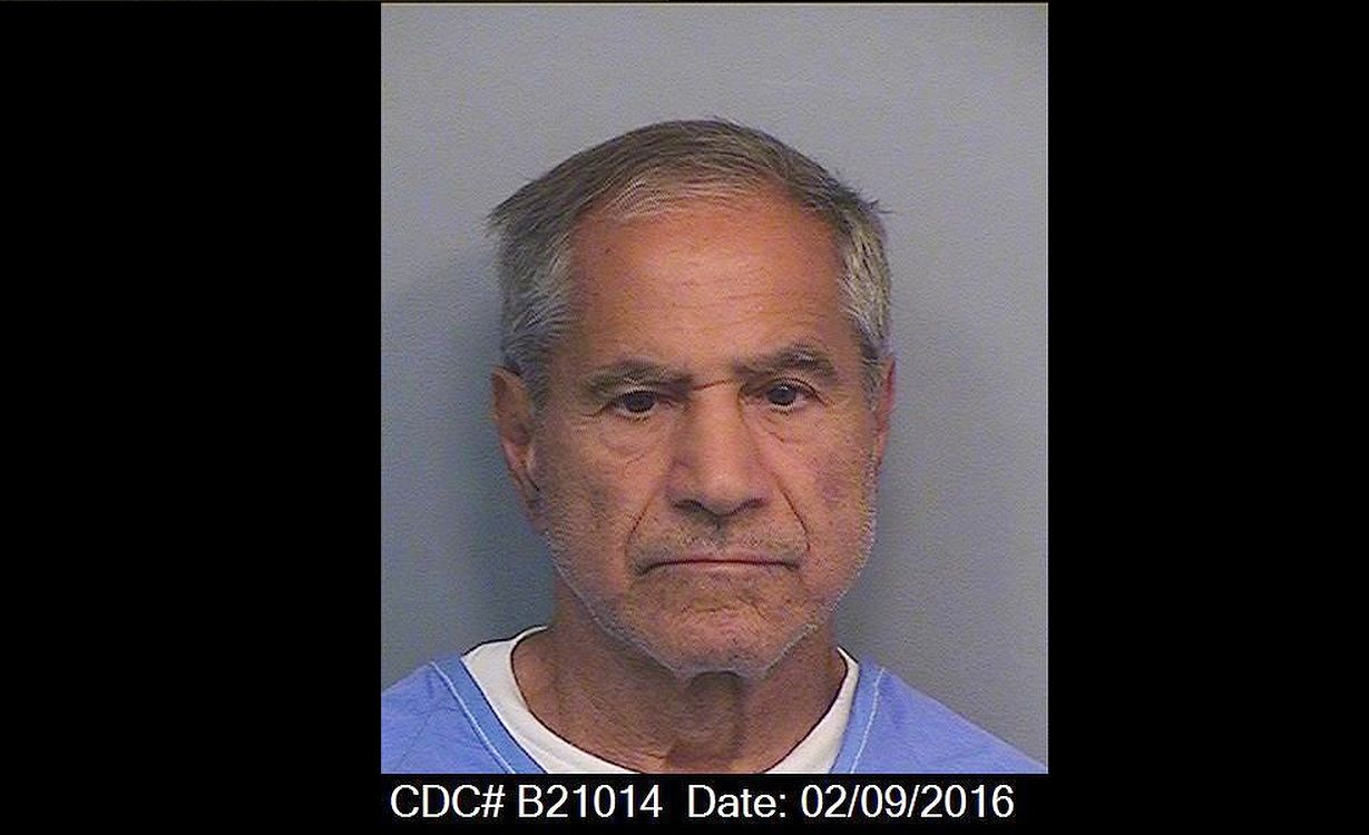 This Tuesday, Feb. 9, 2016, photo provided by the California Department of Corrections and Rehabilitation shows Sirhan Sirhan. For nearly 50 years, Sirhan has been consistent: He says he doesn't remember fatally shooting Sen. Robert F. Kennedy in a crowded kitchen pantry of the Ambassador Hotel in Los Angeles. The Jerusalem native, now 71, has given no inkling that he will change his story at his 15th parole hearing set for Wednesday, Feb. 10, 2016, in San Diego. He is serving a life sentence that was commuted from death when the California Supreme Court briefly outlawed capital punishment in 1972.  (California Department of Corrections and Rehabilitation via AP)