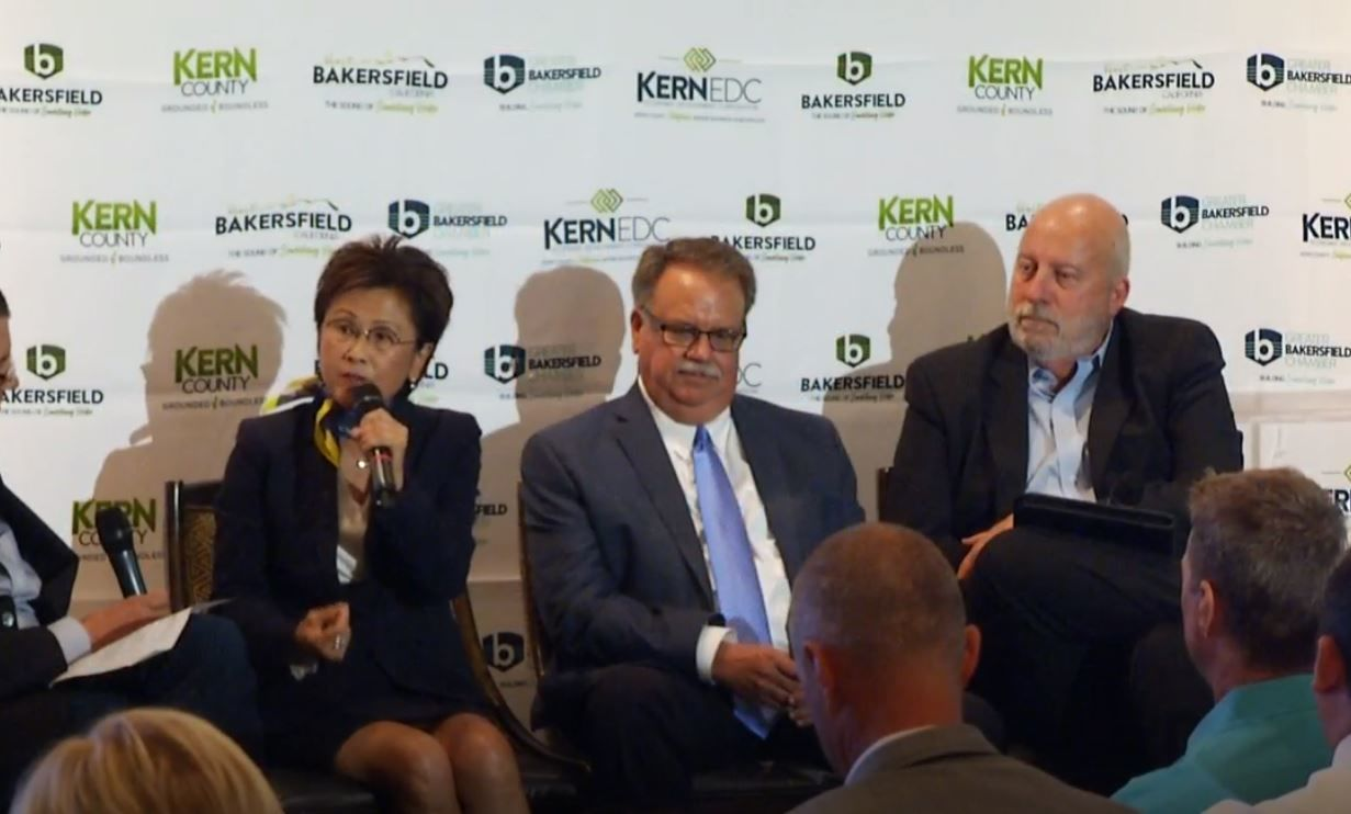 Bakersfield and Kern County leaders unveiled a new branding campaign to attract businesses and increase tourism on Monday, Sept. 8, 2019.<p></p>
