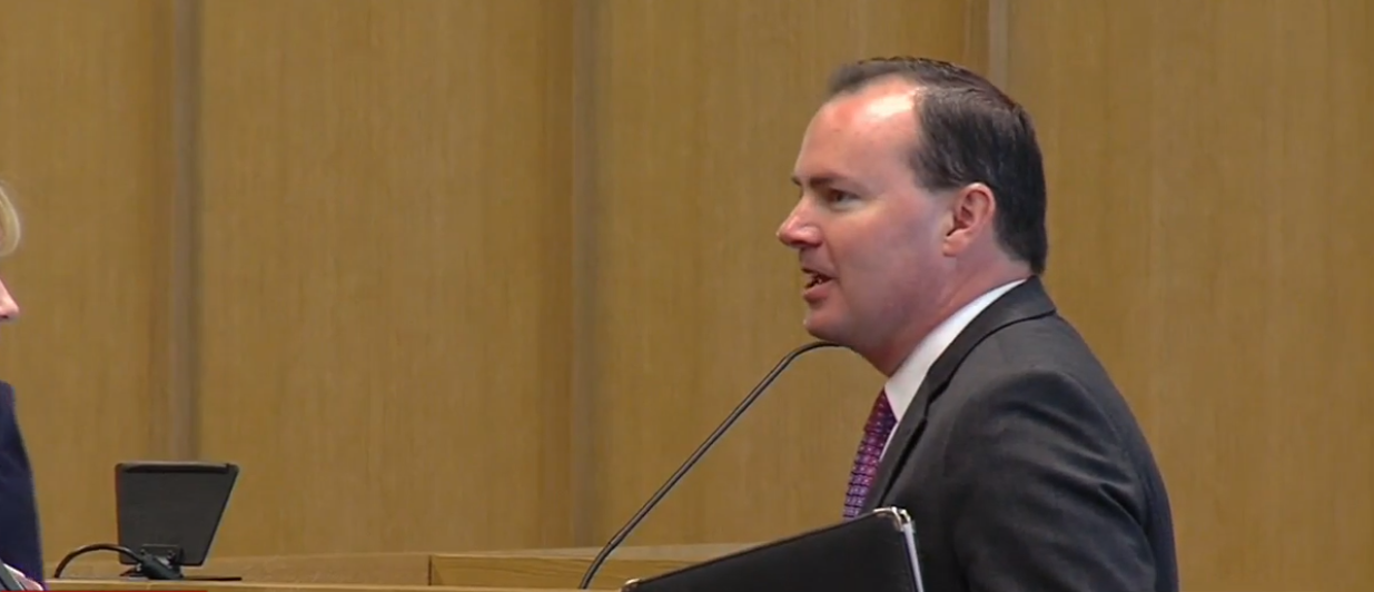 Utah Senator Mike Lee's office announced Thursday afternoon he struck a deal over the 9/11 victim compensation fund, to provide a little more than $10 billion in federal money over 10 years, rather than continuing the program for 73 years. (Photo: KUTV)