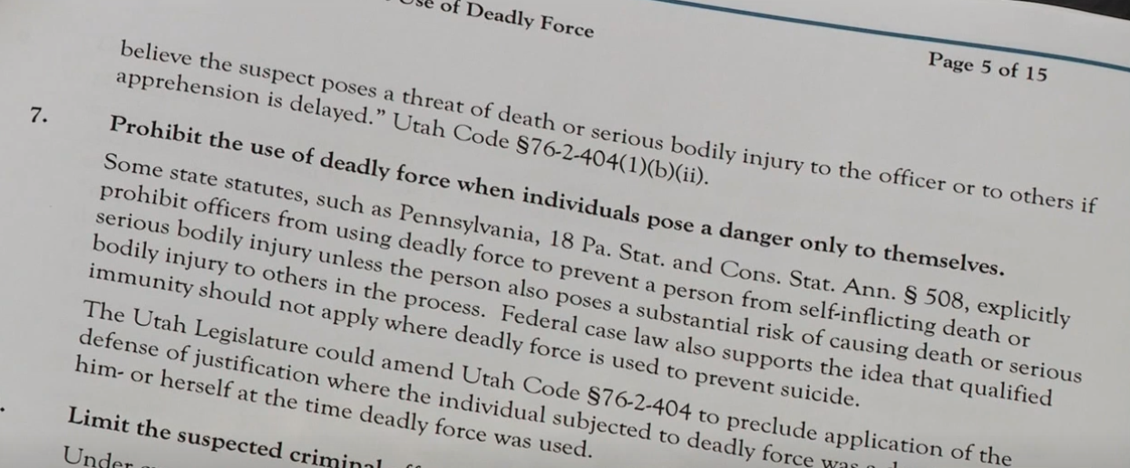 District attorney Sim Gill sends 22 police reform ideas to Utah lawmakers (Photo: KUTV)